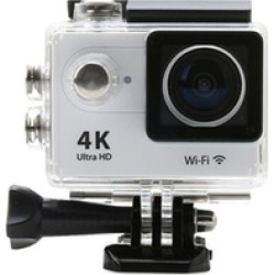 4K Action Pro Waterproof Camera plus Remote and Accessory Bundle