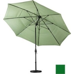 California Umbrella GSCUF118705-SA46-DWV 11 ft. Fiberglass Market Umbrella Colla found on Bargain Bro India from groupon for $391.34