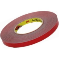3-M Company 06377 1/2 in. x 20 yd. Gray Automotive Attachment Tape