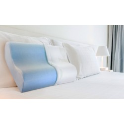 PharMeDoc Cooling Breathable Memory-Foam Contour Pillow