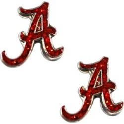 Sports Team Logo Glitter Post Stud Earring NCAA Charm Gift