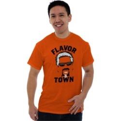 Flavor Town Guy Fieri Funny Meme Foodie T Shirt Tee