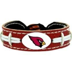 Sports Team Logo Team Color NFL Gamewear Leather Football Bracelet