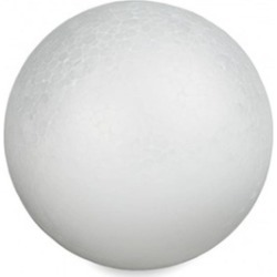 Floracraft SFBA6S 6 in. Smooth Styrofoam Balls