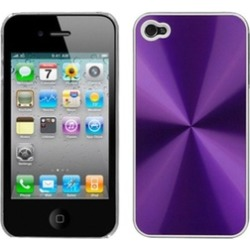 Insten Purple Cosmo Back Case For iPhone 4 4S