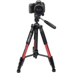 "55"" Professional Aluminum Alloy Camera Tripod for DSLR Canon Nikon"