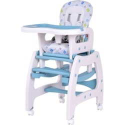 Baby High Chair Convertible Play Table Seat Booster Toddler Feeding