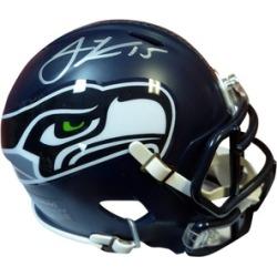 Autographed Jermaine Kearse Seattle Seahawks Speed Mini Helmet