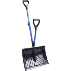 Snow Joe SJ-SHLV01 Shovelution Strain-Reducing Snow Shovel