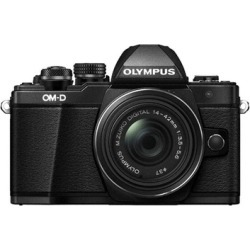 Olympus OM-D E-M10 Mark II Mirrorless Digital Camera with 14-42mm Lens (Black)