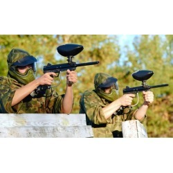 LOW PRICE Open-Play Paintball for Two, Four, or Six with Equipment, Paintballs, and T-Shirts at Wacky Warriors (51% Off)