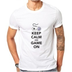 Keep Calm And Game On Funny T-shirt