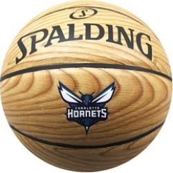 Spalding Basketball Size 7 NBA Charlotte Hornets Woodgrain