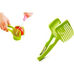 Food Lemon Vegetable Fruit Slicer Egg Peel Cutter Holder Kitchen