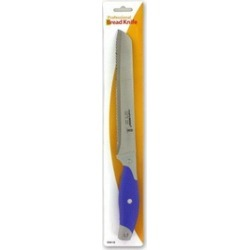 "Bulk Buys OA610-12 12 1/2"" Professional Bread Knife - Grey/Blue - Pack of 12"