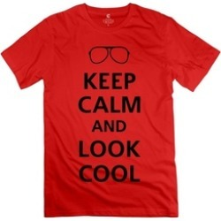 Ytaze Keep Calm And Look Cool F1 Adult Tee