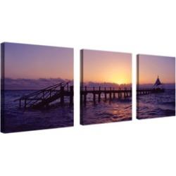 Preston 'Seascape' Canvas Art Set