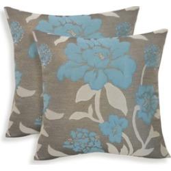 Essentials 19-63048SLT Rosemary Silken Jacquard Floral Toss Pillow