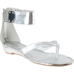 Riverberry Women's 'Lottie' Ankle Strap Sandals, Silver