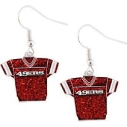 Sports Team Logo MLB Glitter Jersey Dangle Earring Set Charm Gift