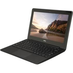 "Dell 11.6"" Chromebook with Intel Celeron 2955U Processor, 2GB RAM, and 16GB SSD (Refurbished A-Grade)"