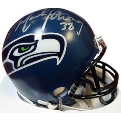 Autographed Mack Strong Seattle Seahawks Mini Helmet