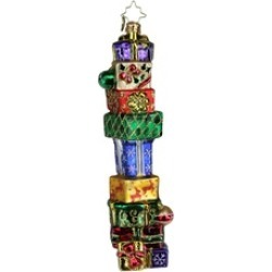 """7.5"""" Christopher Radko """"Mile High Miracles"""" Hanging Christmas Ornament"""