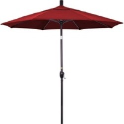 California Umbrella GSPT758117-F13 7.5 ft. Fiberglass Market Umbrella found on Bargain Bro India from groupon for $117.61