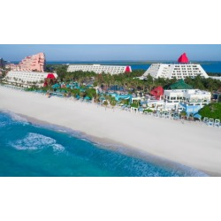 All-Inclusive Stay at The Pyramid at Grand Oasis in Cancún, with Dates into December 2019. Includes Taxes and Fees.