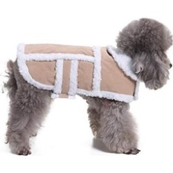 Shearling Fleece Dog Jackets for Small to Medium Breeds Dog