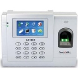 FingerTec USA AC100C FingerTec Time Attendance Premier Plus Time Clock
