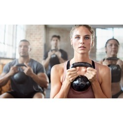 One-Month Fat-Blaster Program for One or Two at Iron Strength Kettlebell Gym (Up to 72% Off)