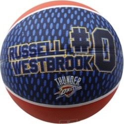 Spalding Basketball Size 7 OKC Thunder, Player Westbrook