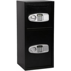 Digital Safe Depository Drop Box Double Door Cash Office Security Lock found on Bargain Bro India from groupon for $486.60