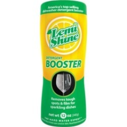 Lemi Shine 703074228744 Lemon Scent Dishwasher Detergent Booster