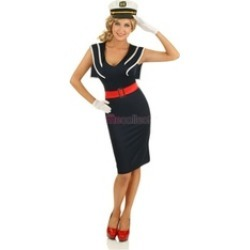 Roma Costume 14-4285-AS-M 3 Pieces CaptainS Choice