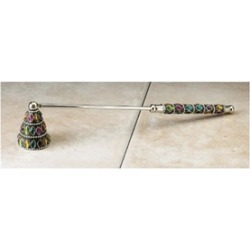 Biedermann & Sons M1806 Multi-Color Jeweled Snuffer