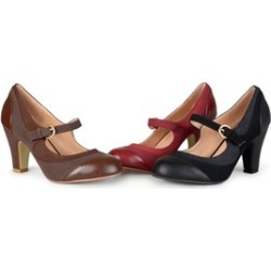Journee Collection Womens Two-tone Tweed Mary Jane Pumps