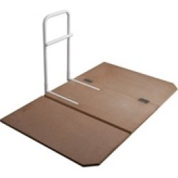 Drive Medical 15062 Home Bed Assist Rail and Bed Board Combo Case of 1