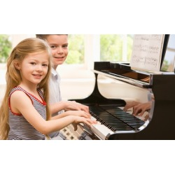 One Month of Private Music Lessons or Group Piano Classes for One or Two at Cadenza Music Center (Up to 92% Off)