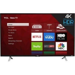 "TCL 43"" 4K Ultra HD Roku Smart LED TV (Refurbished)"