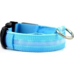 LOW PRICE Nylon Collar For Pets With Flashing LED Night