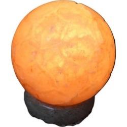 Himalayan Salt Soccer Ball Lamp