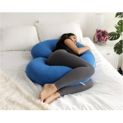 Full Body Pregnancy Pillow w/ Jersey Cotton Cover