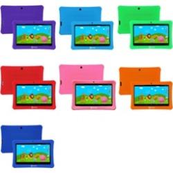 "Contixo Kids 1 Safe 7"" Tablet 8GB, WiFi, Camera, Free Games, Parental Control"