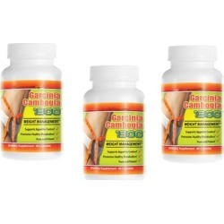 High Effective Garcinia Cambogia Extract 1000mg (3 Pack )