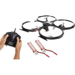 SereneLife SLDR18HD Quadcopter with Built-In 720p HD Camera and 2.4GHz Wireless Remote Control