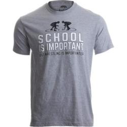 School Is Important But Wrestling Is Importanter Wrestler Tee