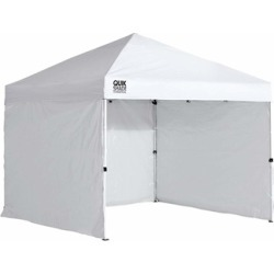 Quik Shade 10'x10' Instant Canopy Wall Panel Set with Zipper Entry