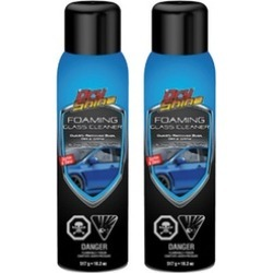 Dry Shine Waterless Car Care Foaming Glass Cleaner (2-Pack)